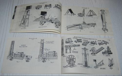 Vintage erector set booklet 5