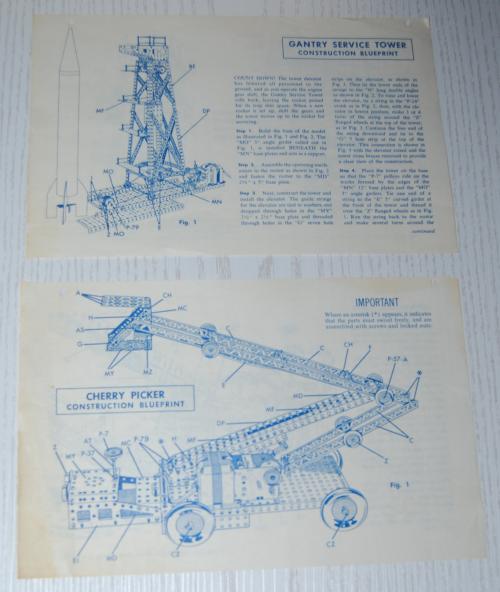 Vintage erector set booklet 7