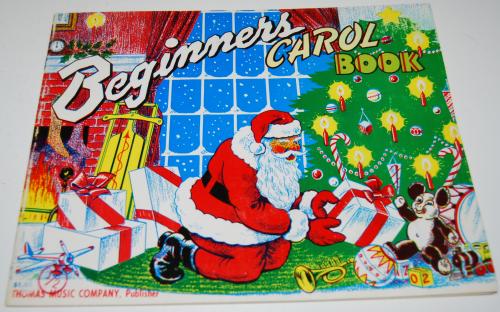 Beginner's carol book