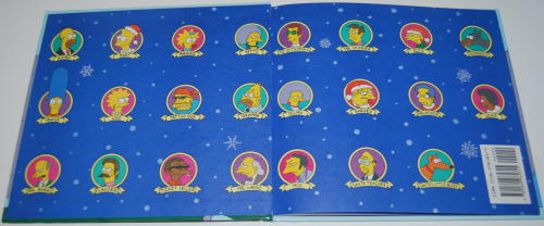 Simpsons xmas book 1