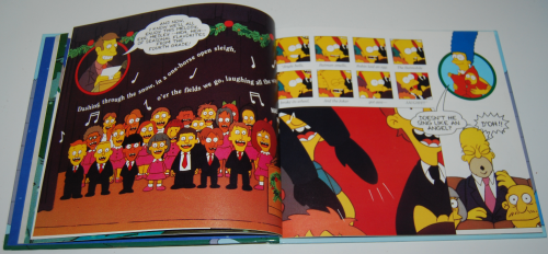 Simpsons xmas book 5
