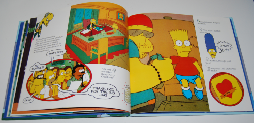 Simpsons xmas book 7