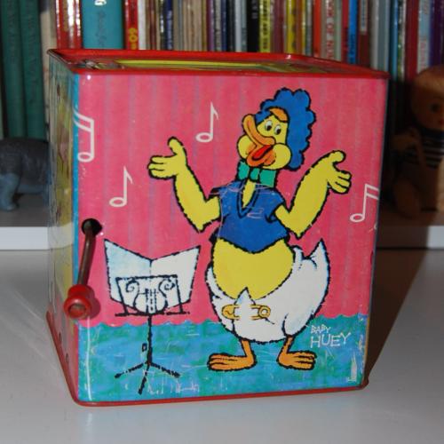 Casper music box mattel 1
