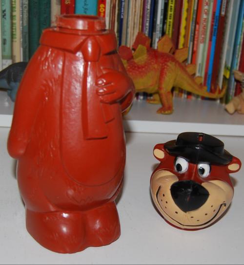 Vintage toy yogi bear bank 4