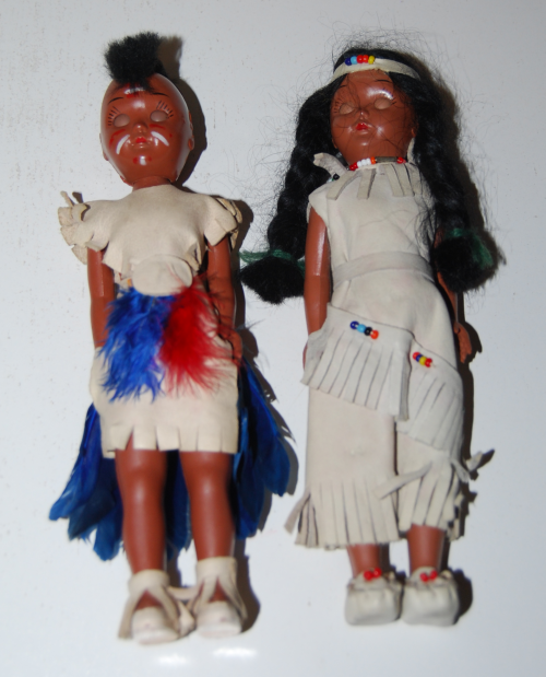 Native american dolls x