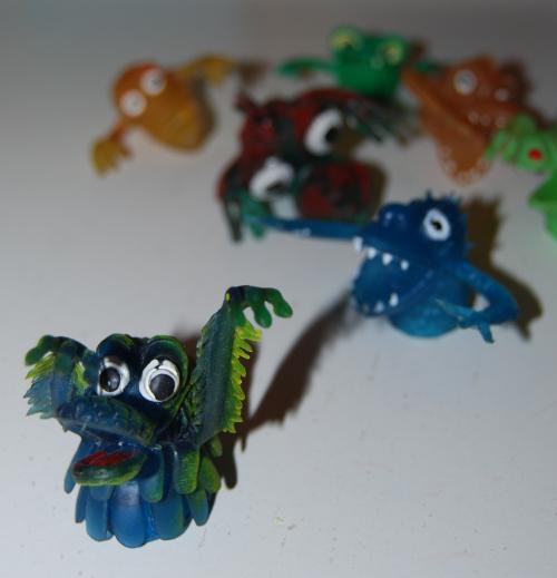 Finger puppet monsters x