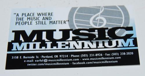 Music millenium pdx