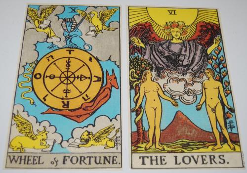 Tarot cards large 4