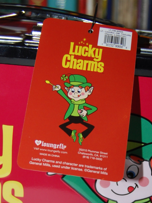 Lucky charms lunchbox loungefly