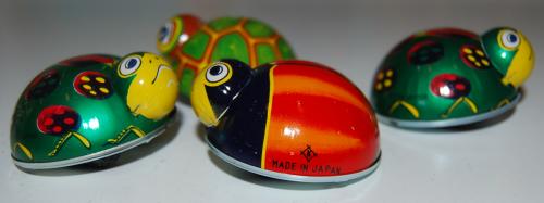 Tin beetle toys 2