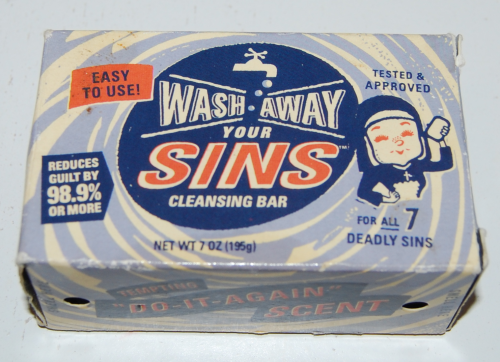 Wash away sins soap x