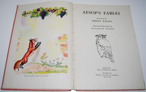 Aesop's fables 1944 1
