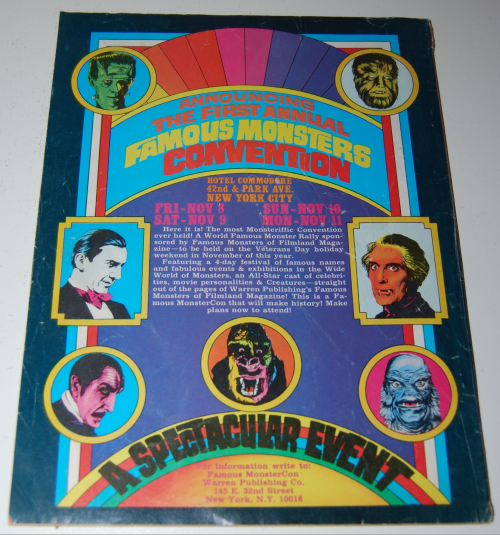 Famous monsters of filmland x