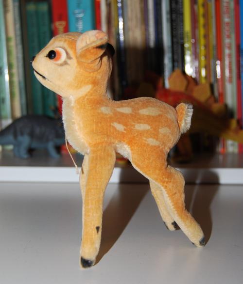 Steiff deer plush toy