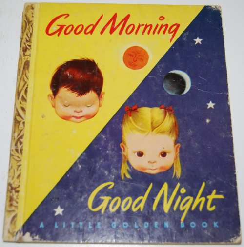 Good morning good night little golden book