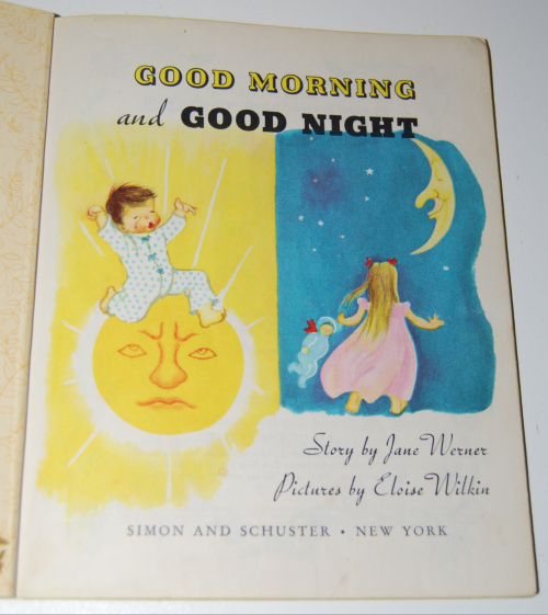 Good morning good night little golden book 1