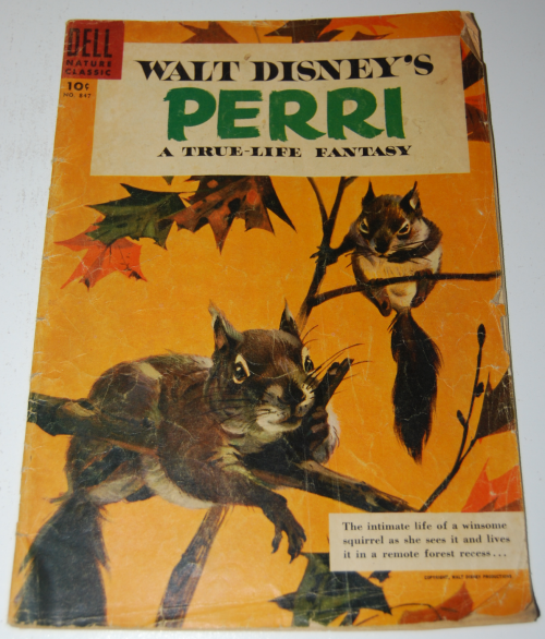 Walt disney's perri dell comic book