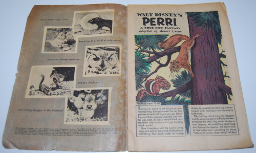 Walt disney's perri dell comic book 1