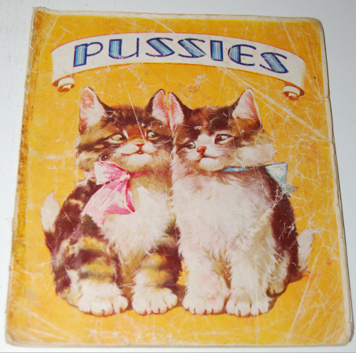 Vintage cat book pussies