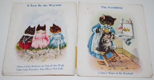 Vintage cat book pussies 1