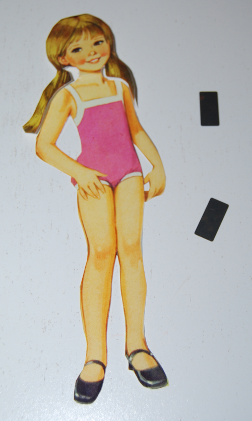Vintage paper doll toys x