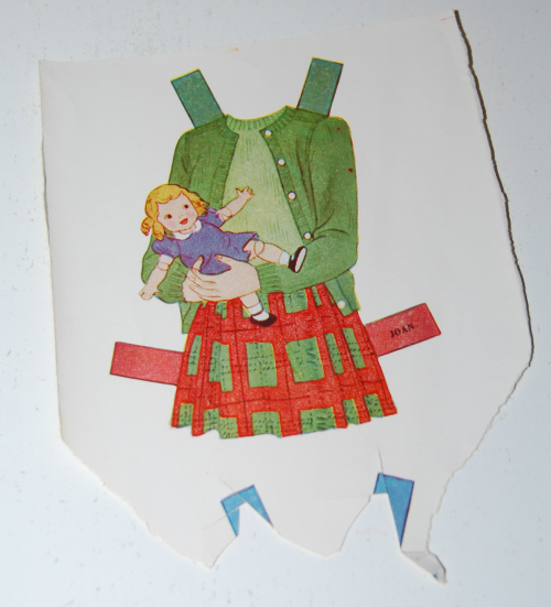 Vintage paper doll toys party dolls 4
