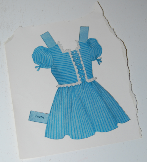 Vintage paper doll toys party dolls 5