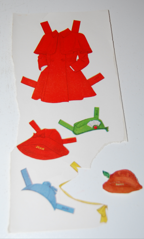 Vintage paper doll toys party dolls 9