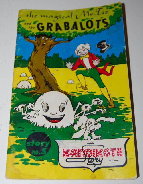The magical mr tiz & the grabalots