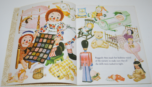 Raggedy ann & fido little golden book 2