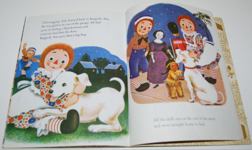 Raggedy ann & fido little golden book 10