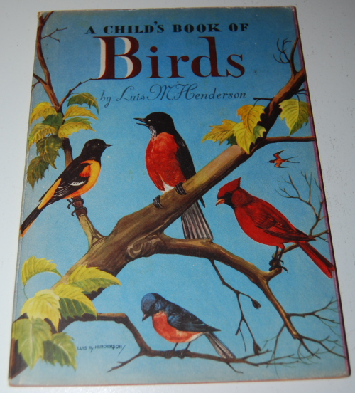 A child's book of birds x