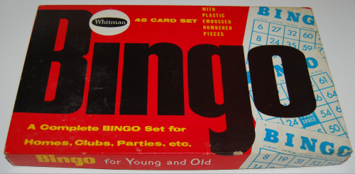 Whitman bingo game 1959