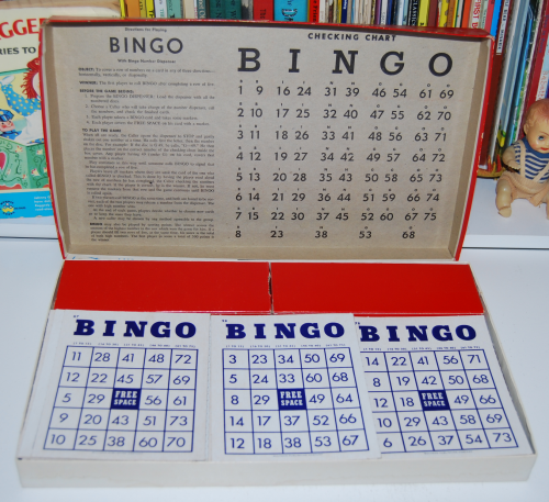 Whitman bingo game 1959 1