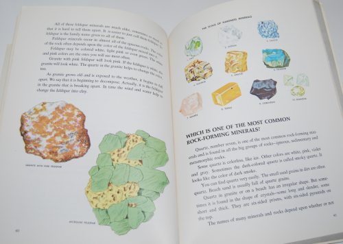 Answers about rocks & minerals wonder book 9