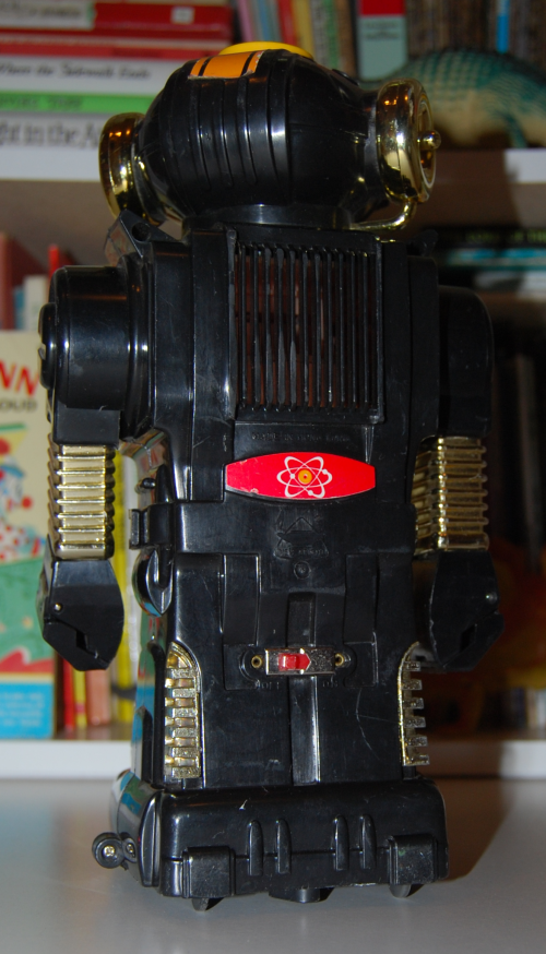 Magic mike 2 vintage robot toy 3