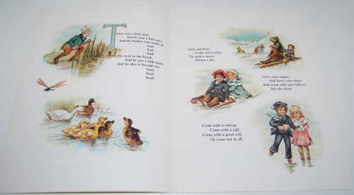 Victorian mother goose 4