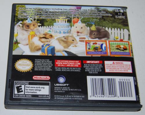 Nintendo ds petz hamsters 2 x
