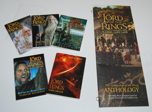 Lord of the rings anthology trading card game 1