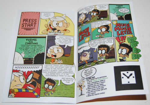 Loud house mini comic books 6