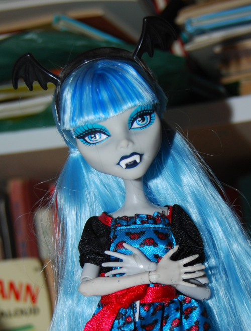 Monster high bat doll 1