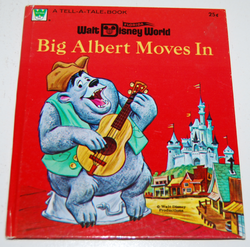 Big albert moves in