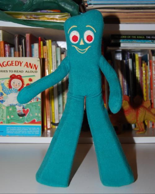 Gumby pokey plush toys 1