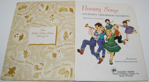 Nursery songs 1