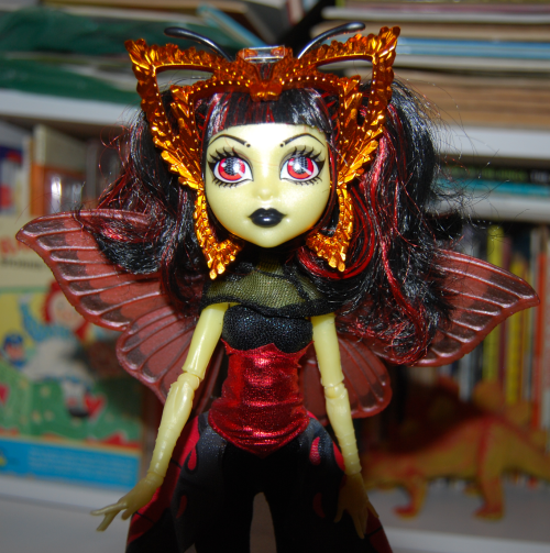 Monster high butterfly doll 1