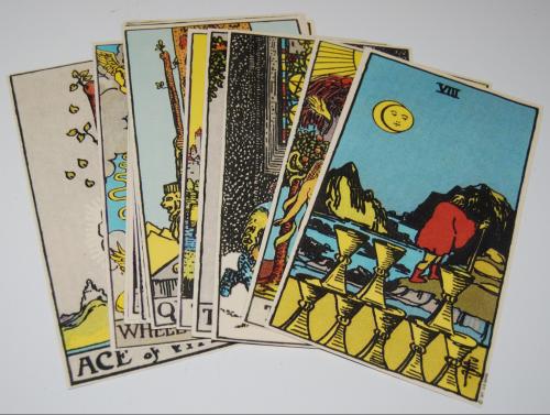 Tarot cards large