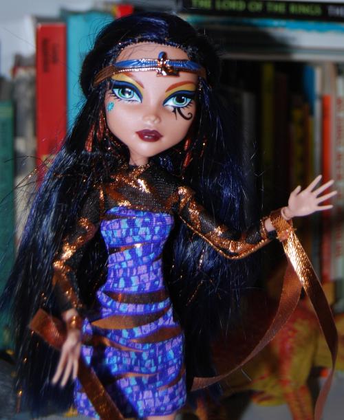 Monster high doll cleo de nile x