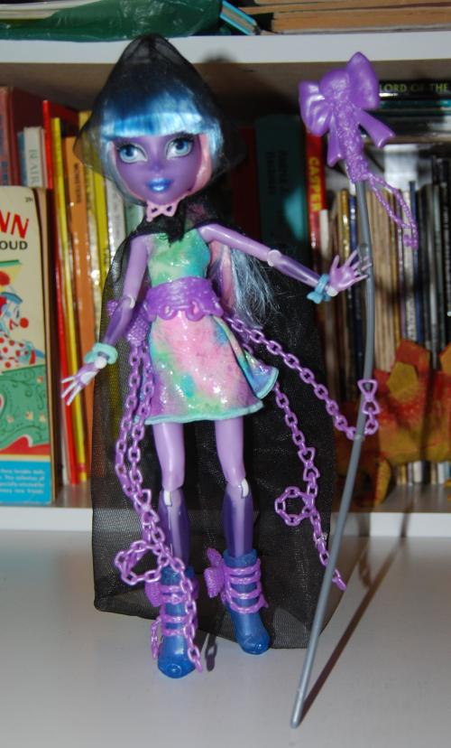Monster high doll river styx