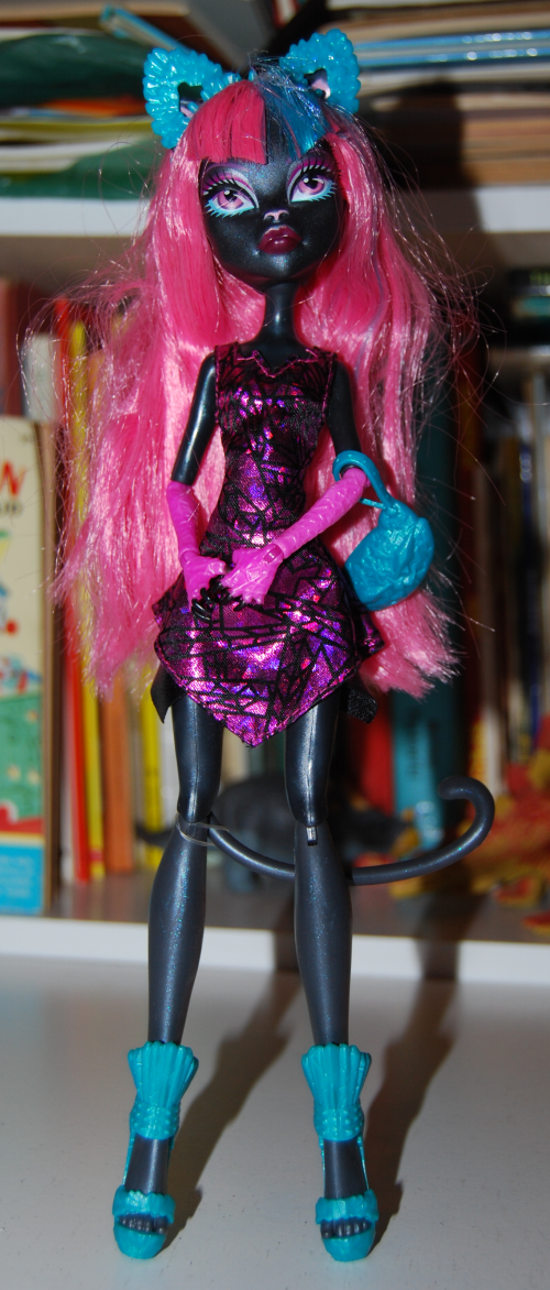 Monster high cat doll