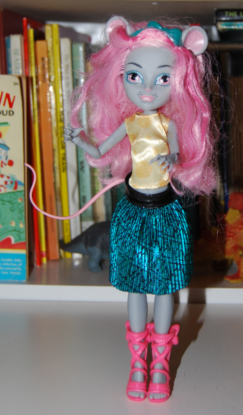 Monster high doll mouscedes